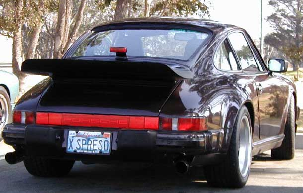 Seen any good personalized license plates on 911s? - Page ...