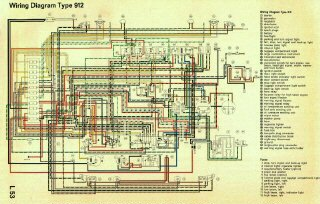 911 912 Color Coded Wiring Diagrams 65 68 Pelican Parts