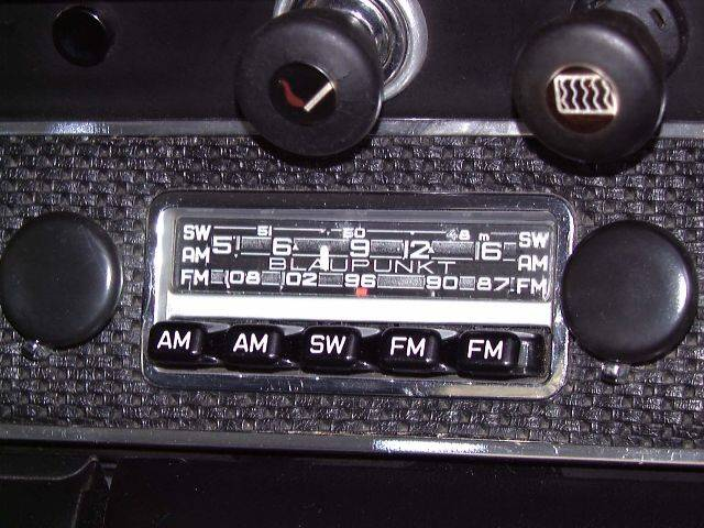Porsche Dealers Florida >> original frankfurt radio - Pelican Parts Forums