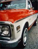 1972 Hugger Orange BB Fleetside p/up