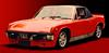 This is a painting of my <br>1973 914 2.0 my first <br>Porsche.