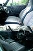 In the summer of 2001 I re-upholstered th berbour trimmed interior with all blue leather.