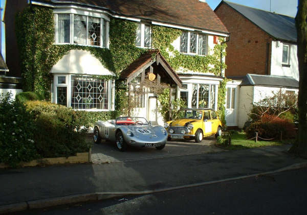 Maguire S Garage Circa 1960 Gp Spyder Porsche Replica