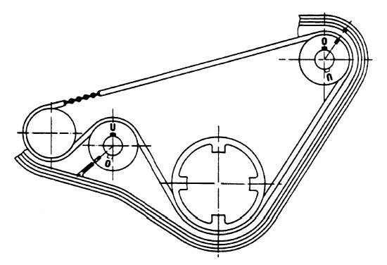 alighn balance shafts on 944