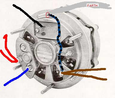 96 Dodge Dakota Alternator Wiring Diagrams additionally 777345 Marchal Alternator Trouble Wiring Ground furthermore S4 S6 Alternator Newly Simplified Demystified 376440 besides Chevy Alternator Wiring Diagram likewise 6 24 48v External Battery Charger Control. on external voltage regulator wiring diagram
