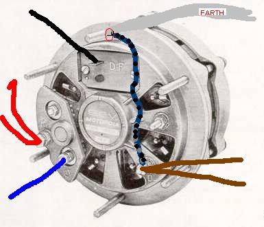 alternator regulator wiring diagram images motorola alternator wiring image search results