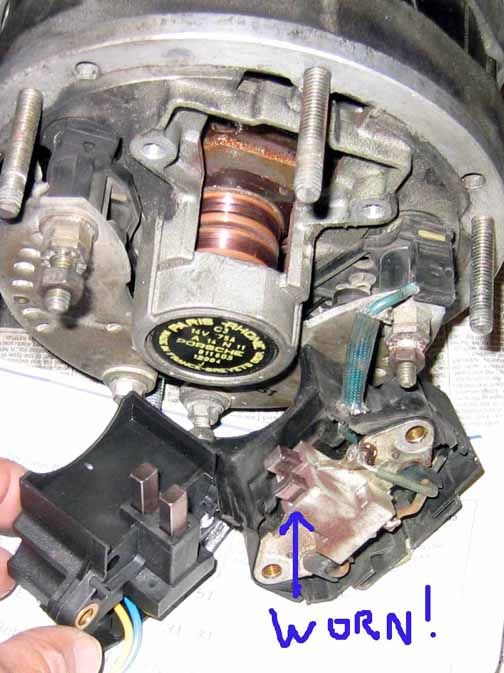 upgraded alternator charging sys help please pelican parts dang puter here s the other pic