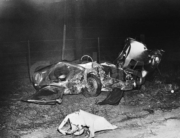 James Dean Death Photos