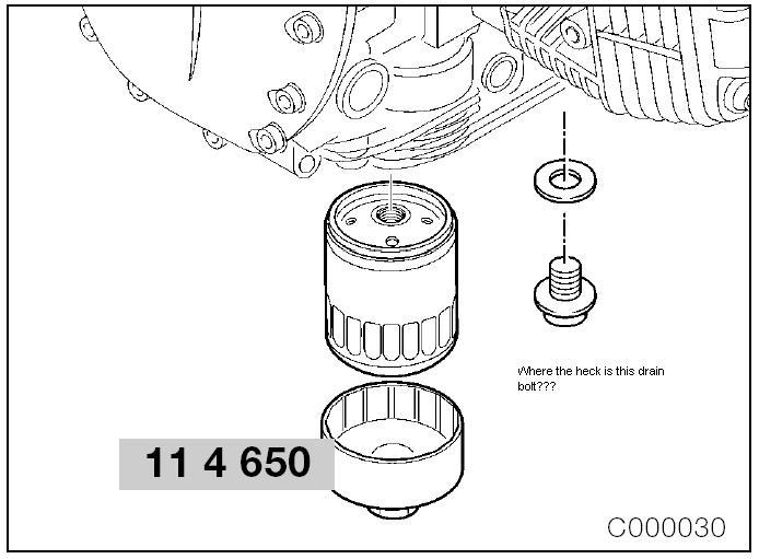 oil drain  u0026quot plug u0026quot  - where the heck is it