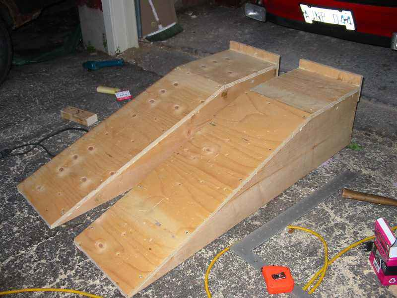 DIY car ramps - Pelican Parts Technical BBS