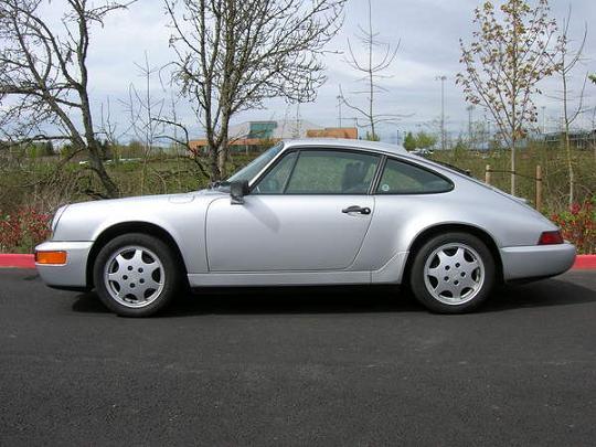 1990 911 964 Carrera 4 Polar Silver Pelican Parts