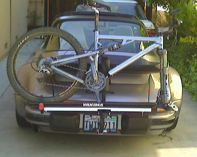 bike rack license plate