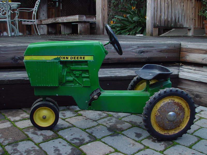 Tractor Pedal Car Parts : John deere pedal tractor parts