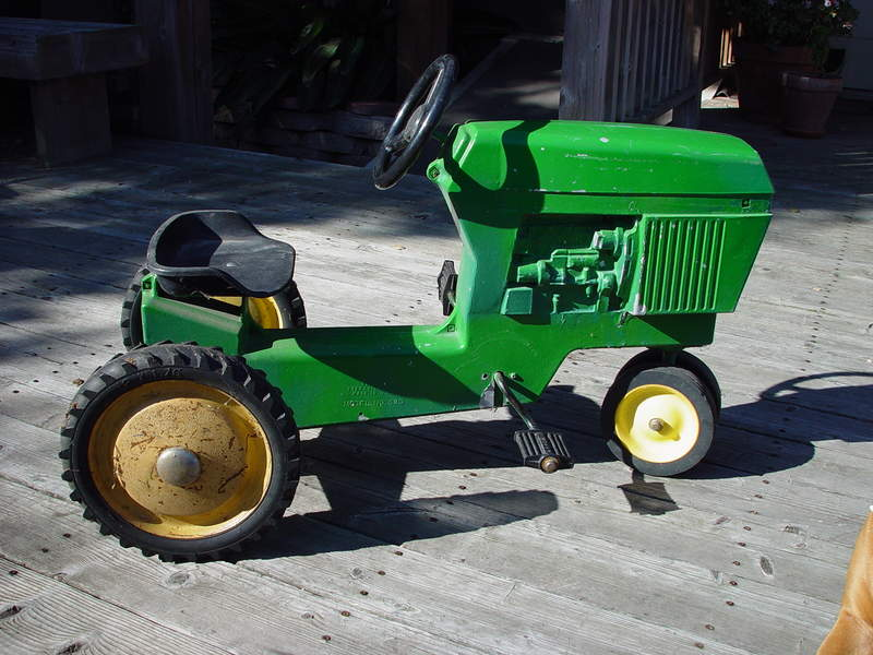 Pedal Tractor Replacement Parts : John deere pedal tractor pelican parts technical bbs