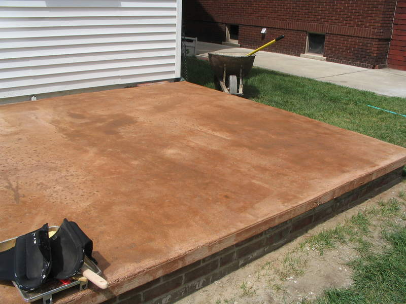 Anyone Else Ever Stain Their Concrete Pelican Parts Forums