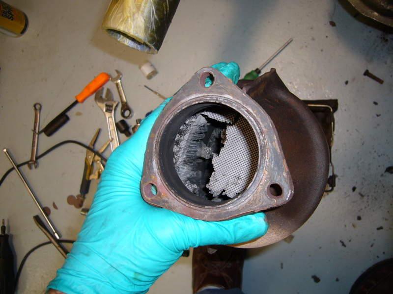 Crumbling Catalytic Converter Pelican Parts Forums