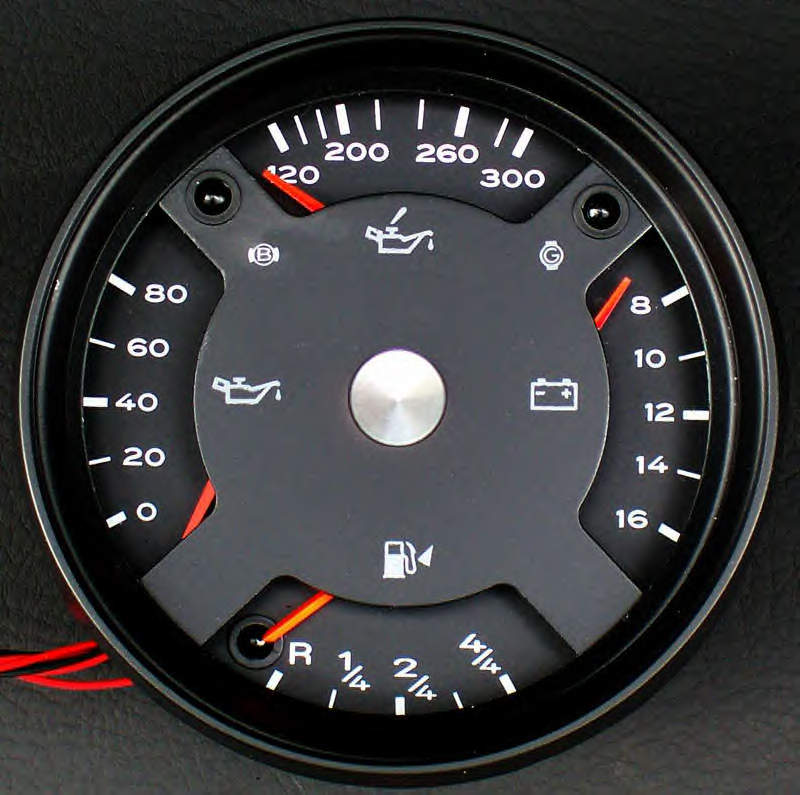 911  912 Quad Gauges