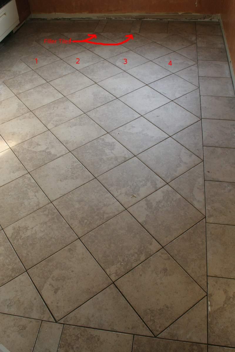 Tile installation patterns for floors