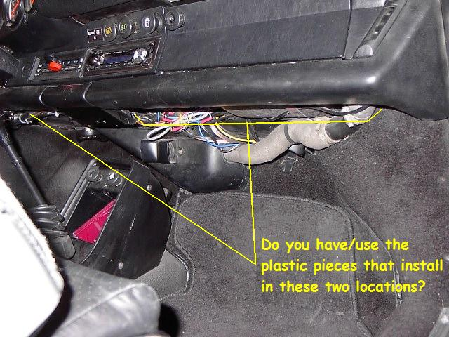 let's see what it looks like under your dash pelican parts forums 1984 nissan 300zx dash 1984 porsche 911 pictures wiring in dash #3