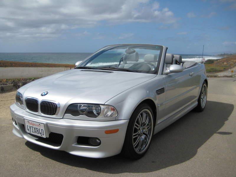 2001 BMW M3 CONVERTIBLE 24k miles Silver 6spd SAN DIEGO - Pelican ...