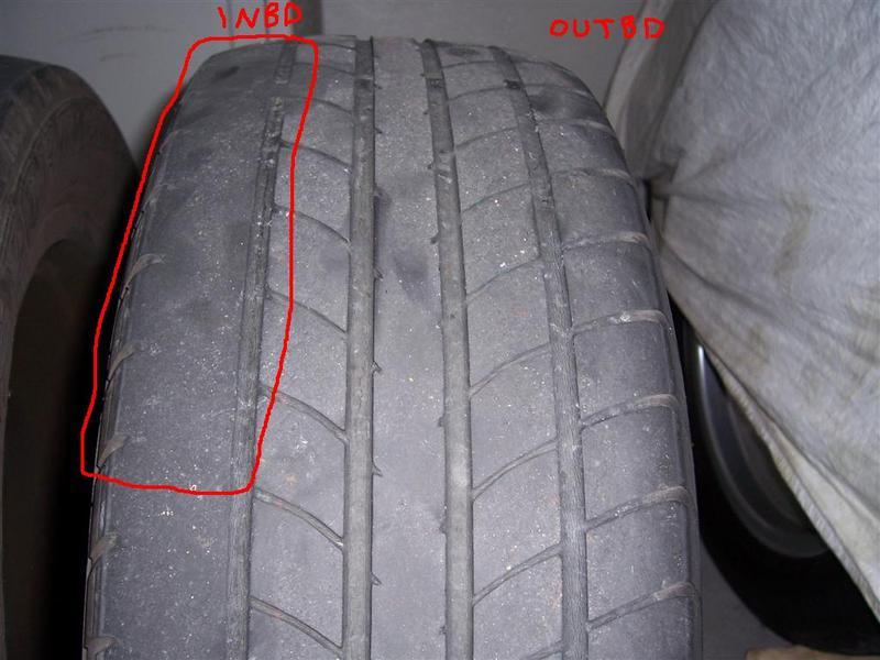 Bmw E39 Uneven Rear Tyre Wear