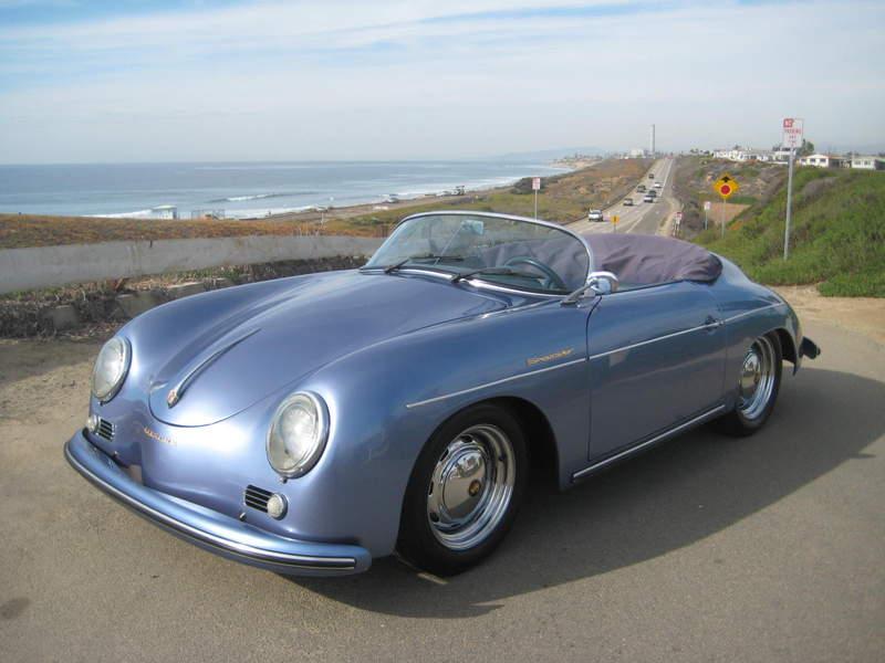 1957 Porsche Speedster 2004 Beck 2600miles San Diego