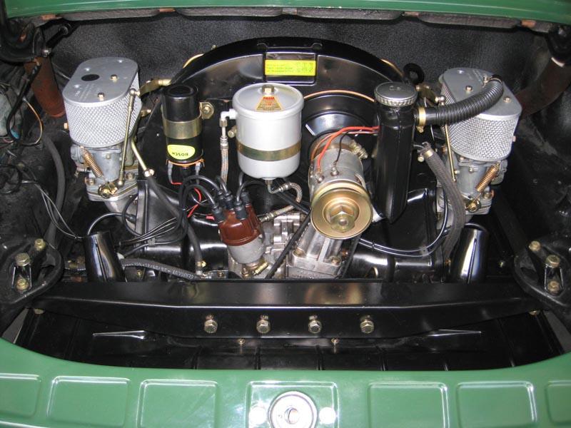 1967 PORSCHE 912 IRISH GREEN excellent resto CALIFORNIA ...