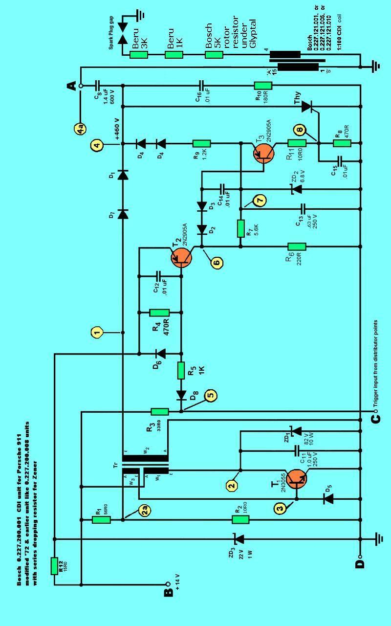 dc cdi wiring diagram timing trigger heating wiring