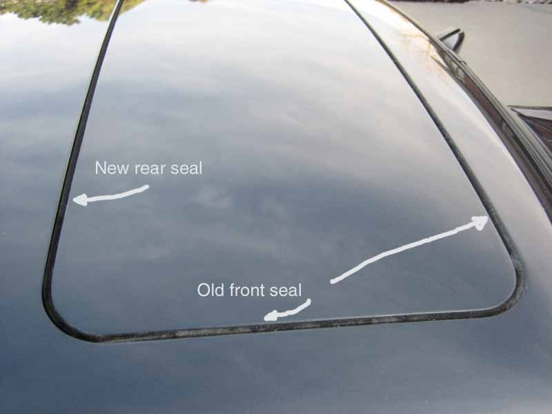 Sunroof Cable Repair And New Seals 87 911 Pelican Parts Forums