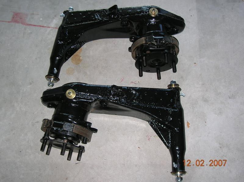 Porsche Rear Suspension