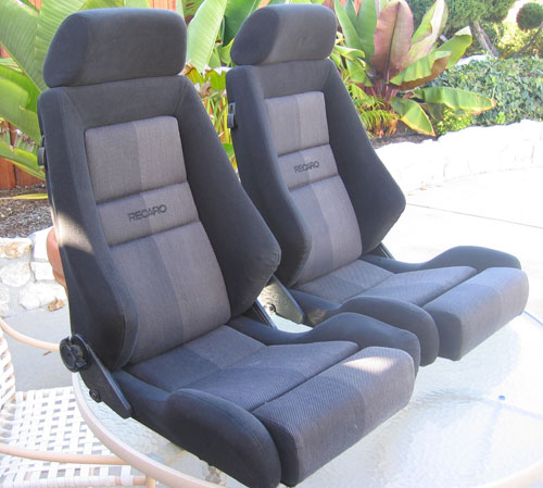 Recaro lx seats in black pelican parts technical bbs for Garage seat nice