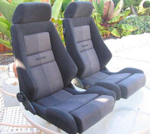 recaro lx seats in black pelican parts technical bbs. Black Bedroom Furniture Sets. Home Design Ideas