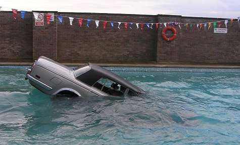 More random pics page 851 pelican parts - Keith moon rolls royce swimming pool ...