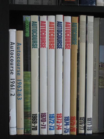 FS: Autocourse Book Collection: 1961-1977 - Pelican Parts