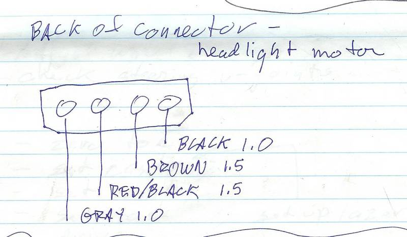 Cool Headlight Motor Wiring Connections Pelican Parts Forums Wiring Cloud Favobieswglorg