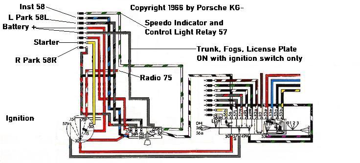1968 SWB Turn signal/park lamp operation - Pelican Parts Forumsthe Pelican Parts Forum!