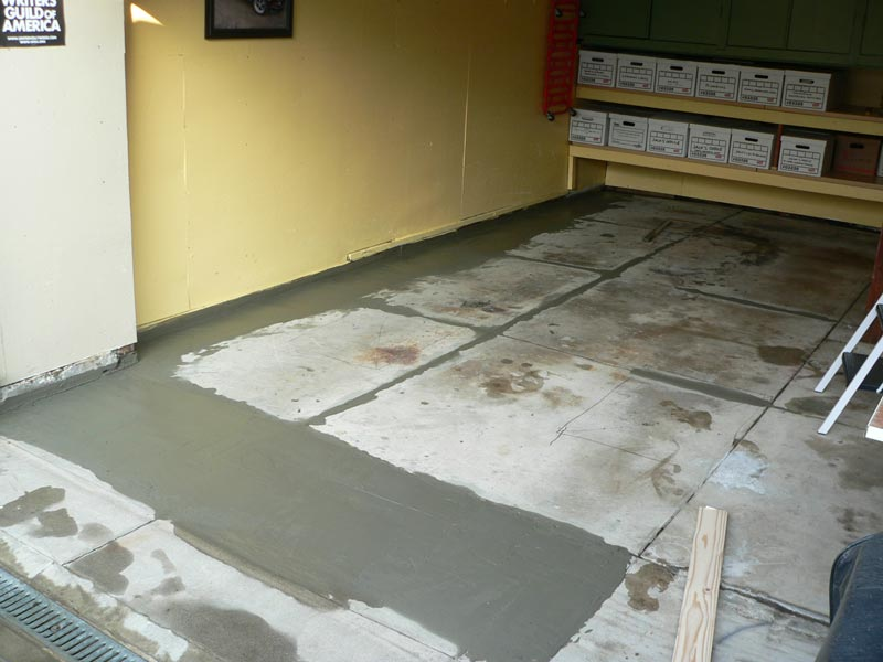 Laying Porcelain Tile For Garage Floor 6sdonline Porsche Forum And Luxury Car Resource