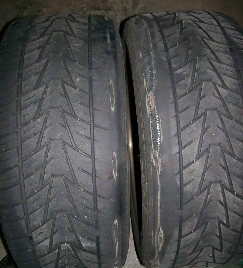 Help Uneven Tire Wear Worn Supension Bushings