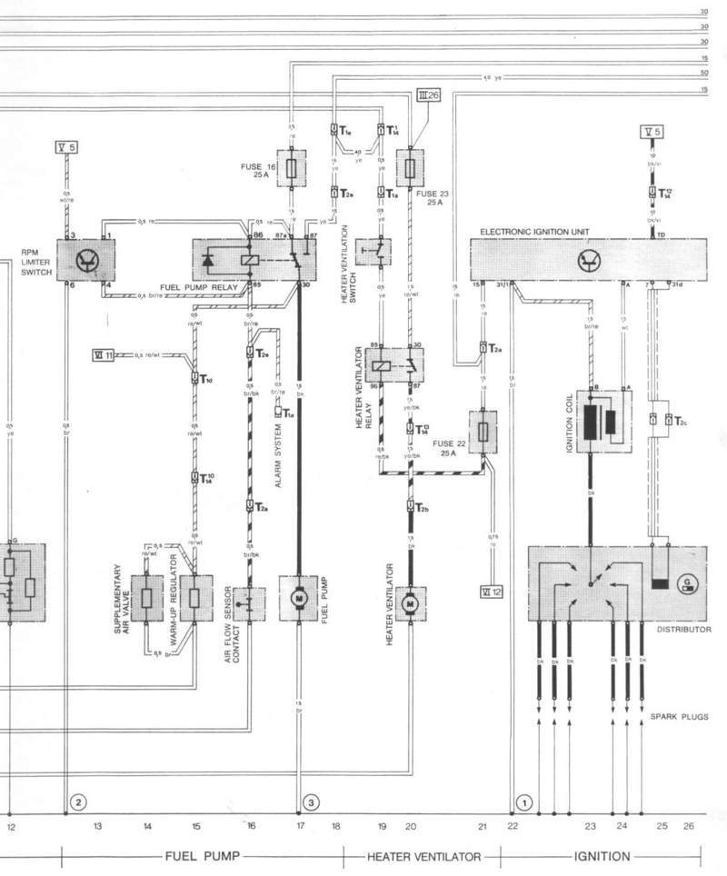 alternator d pelican parts technical bbs hmm so for a later sc using th 82 diagram from the main page it s different the fuel pump relay is wired up opposite what you would typically