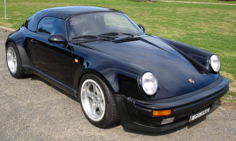 911 Speedster Hardtop And Modified Rear Bar For Sale