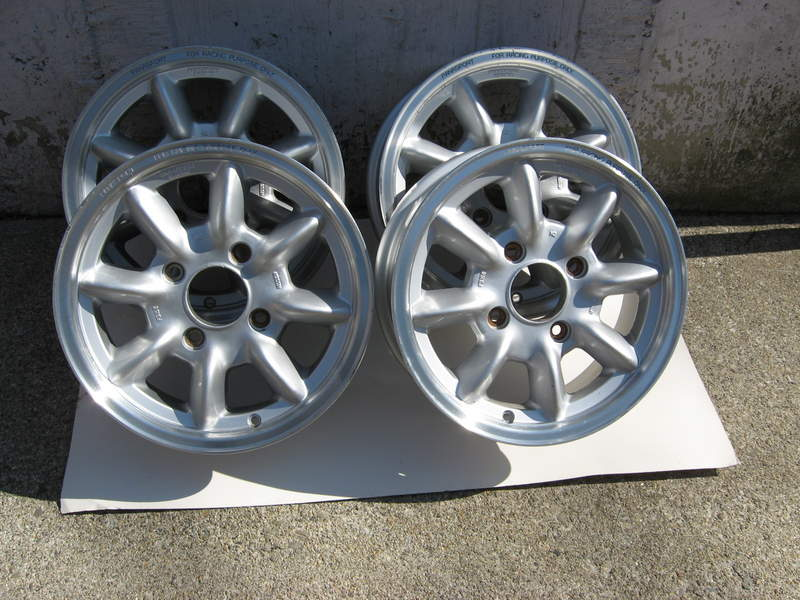 Porsche 914 Ultra Light Panasport Racing Wheels Pelican