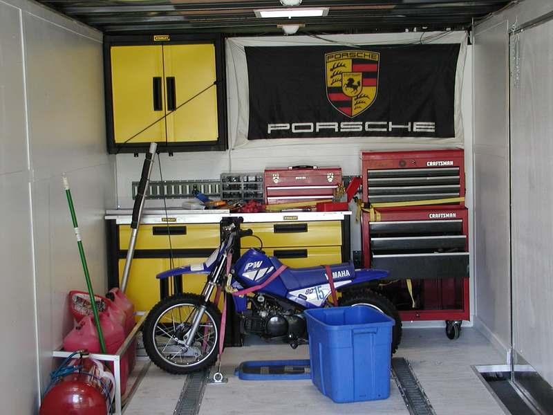 Garage Workbench and Storage Cabinets