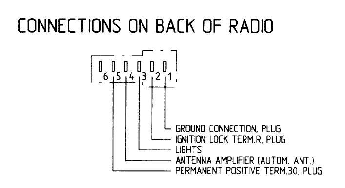 radio wiring pelican parts forums rh forums pelicanparts com Porsche 944 Porsche 912