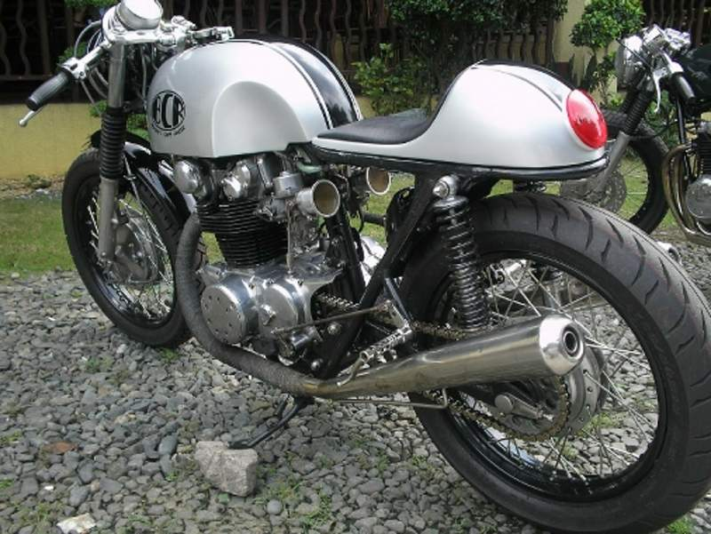 new project! cb450 soon to be a cafe racer! - pelican parts