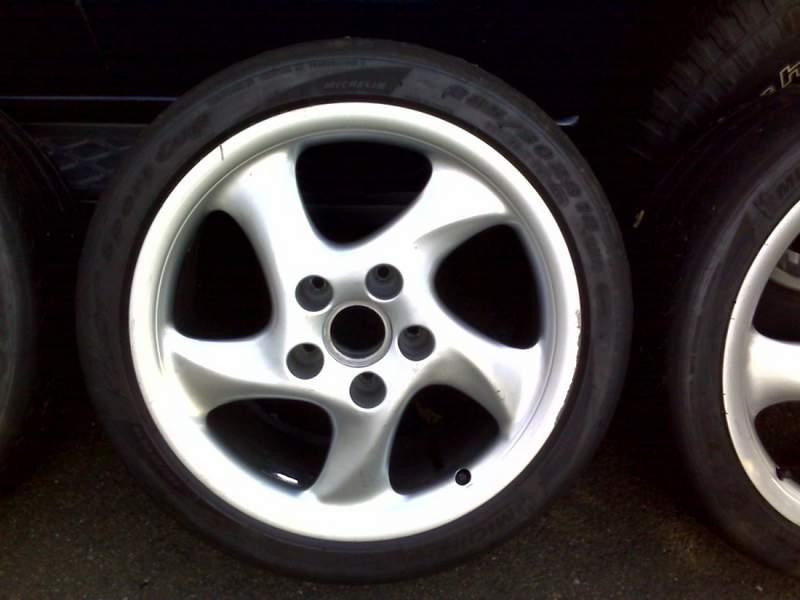 Fs 18 Porsche Turbo Twist Rims W Mpsc Tires Pelican
