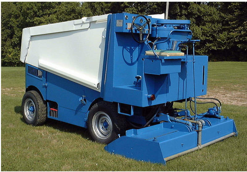Backyard Rink Zamboni : Something for our backyard ice rink! 1968 Zamboni