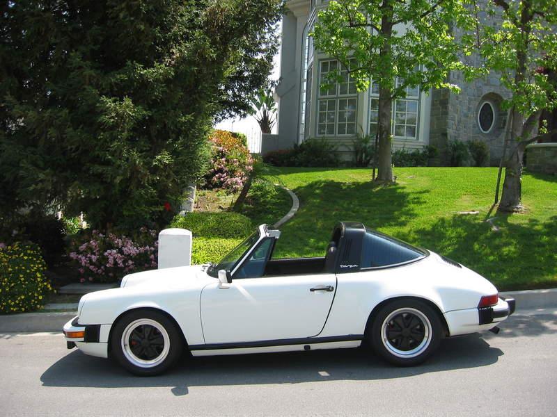 1981 Porsche 911 Sc Targa White Immaculate Condition