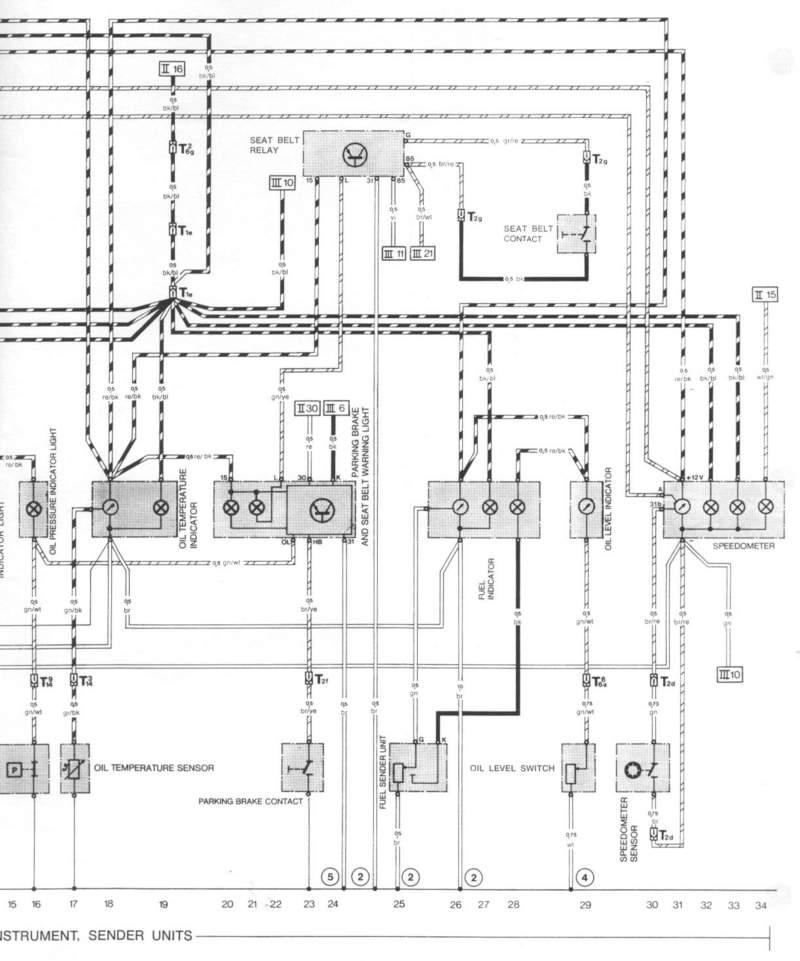 speedo wiring diagram needed pelican parts technical bbs