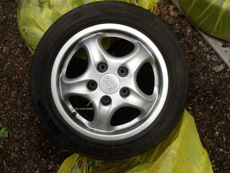 Fs Porsche 993 16 Inch Wheels Tires And Centercaps