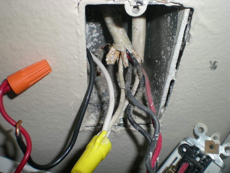 wiring a whole house fan electricians  is this ok  or is